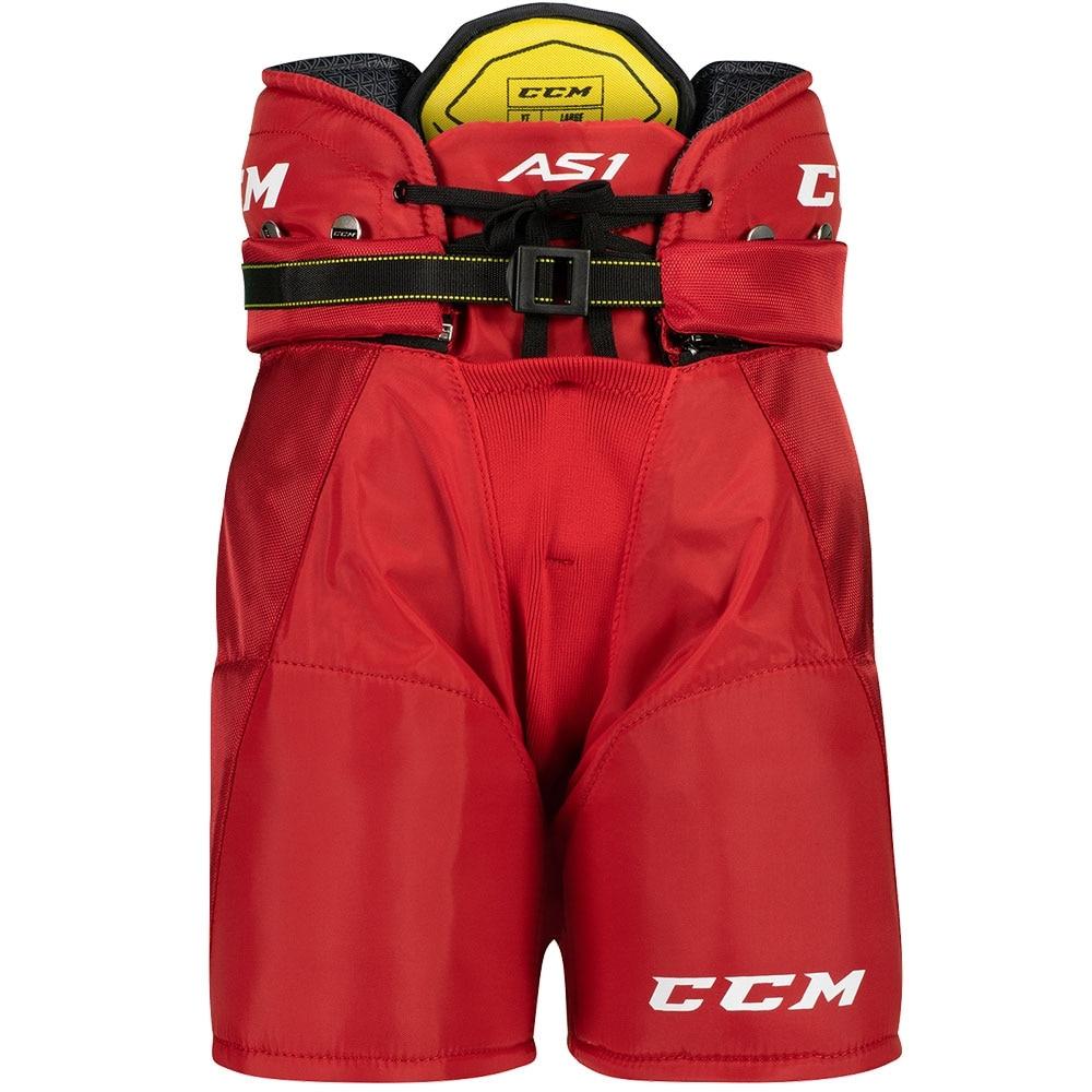 Ccm Super Tacks AS1 Barn Hockeybukse Rød