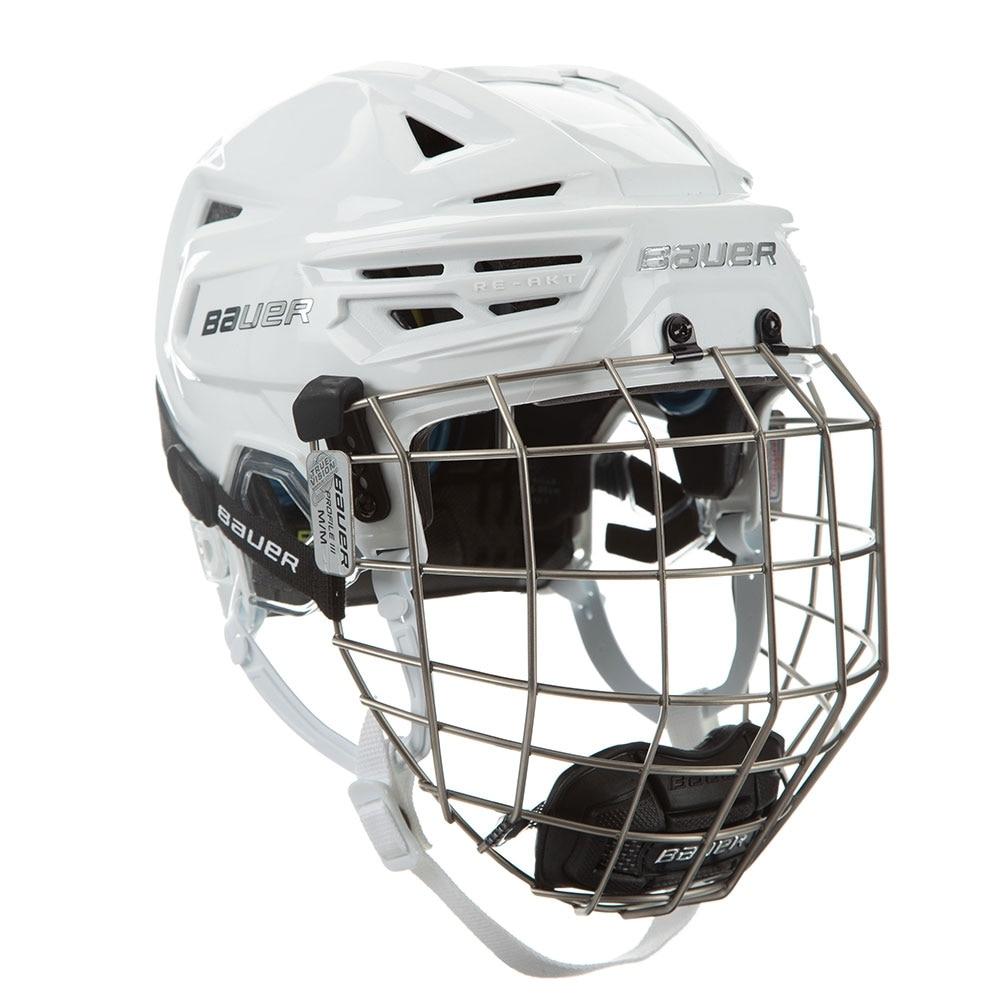 Bauer RE-AKT 150 Combo Hockeyhjelm Hvit