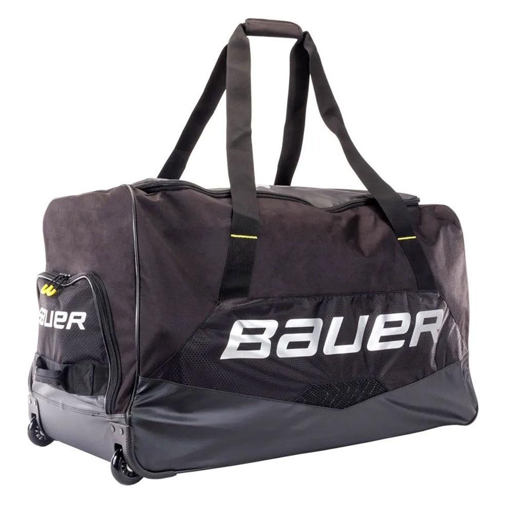 Bauer Premium Junior Hockeybag med hjul Svart
