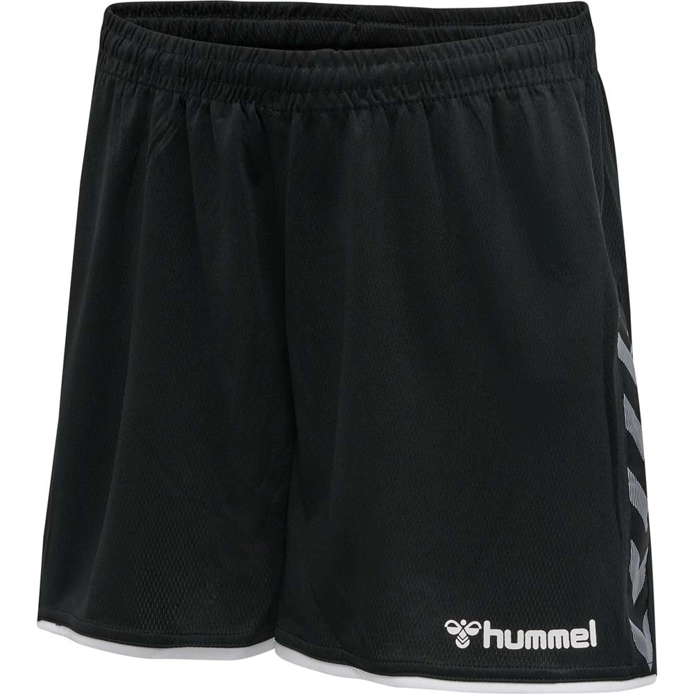 Hummel Authentic Poly Shorts Sort Dame