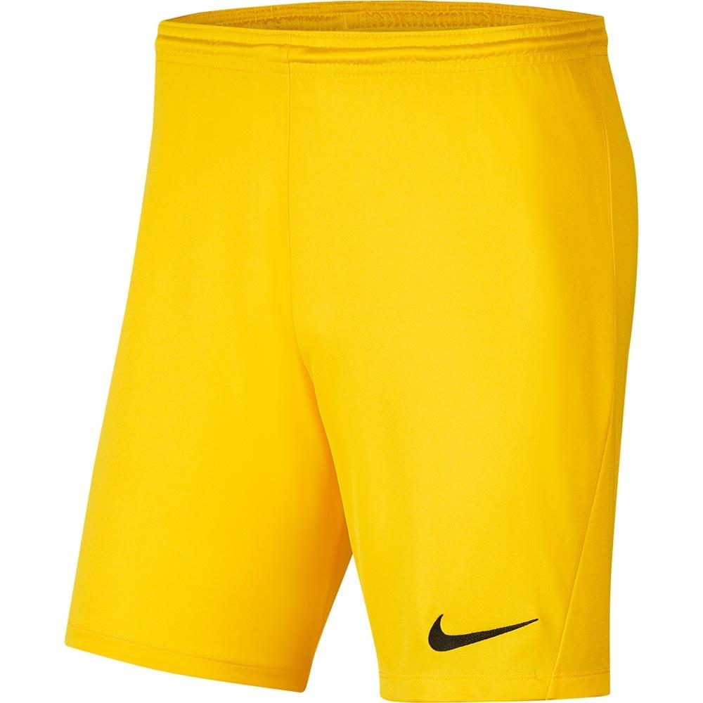 Nike Park III Treningsshorts Barn Gul