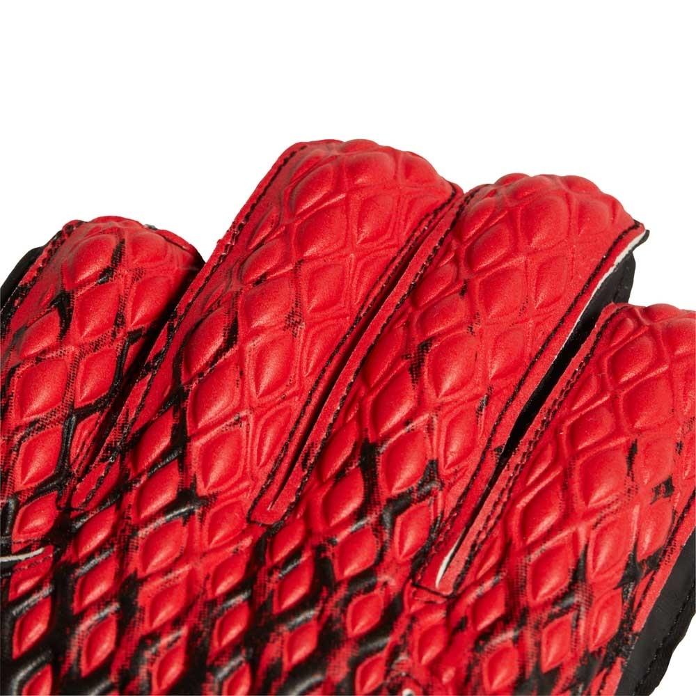 Adidas Predator Fingersave Keeperhansker Barn Mutator Pack Sort/Rød