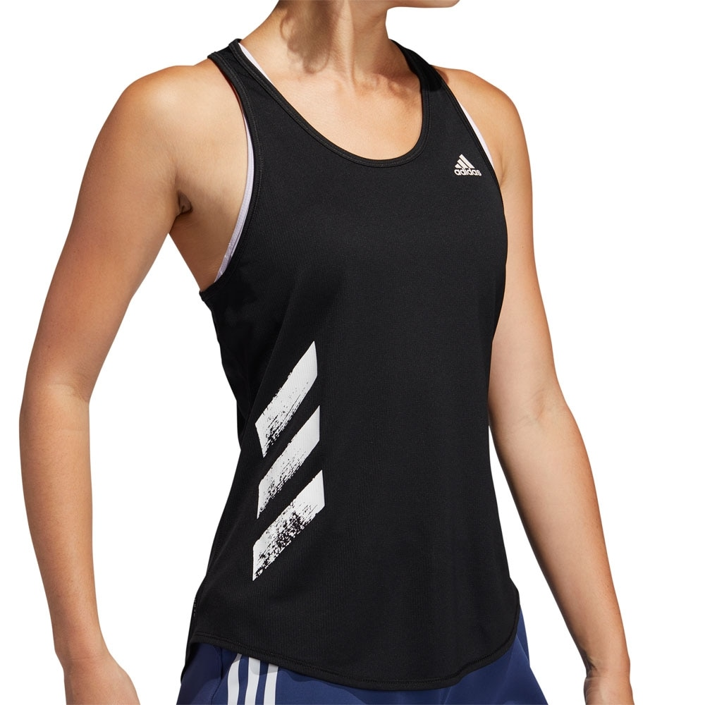 Adidas Run It Løpesinglet Dame Sort