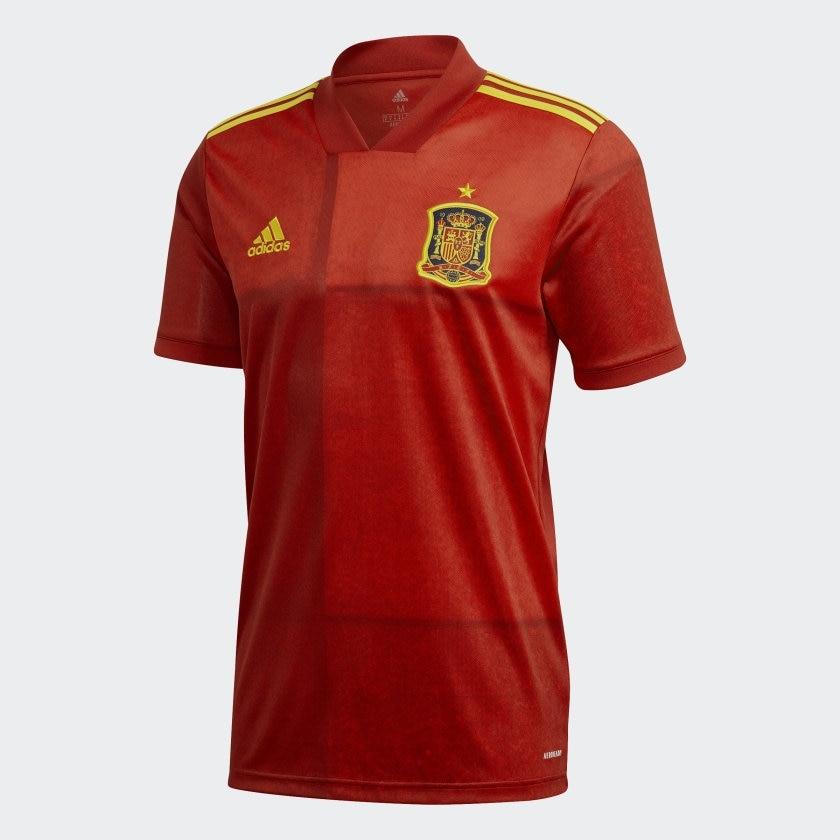 Adidas Spania Fotballdrakt EM 2021 Hjemme