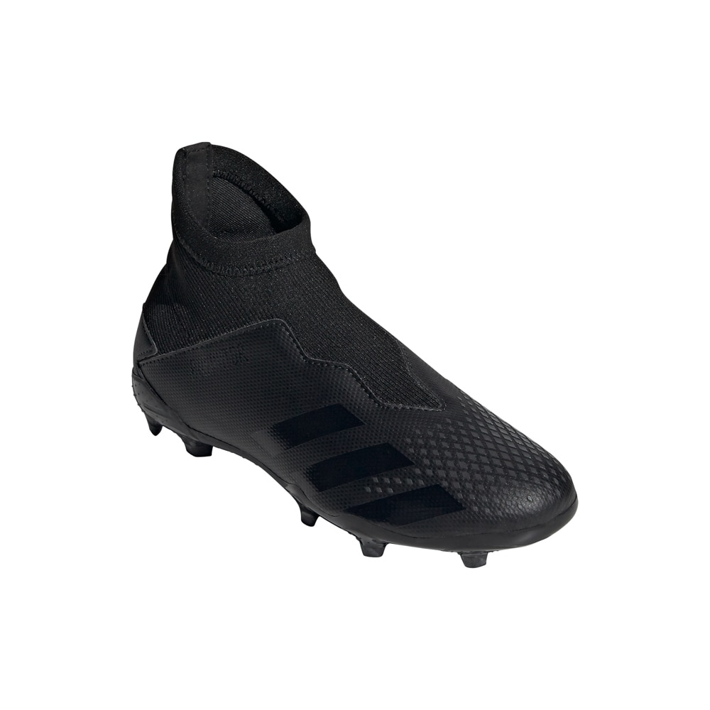Adidas Predator 20.3 Laceless FG/AG Fotballsko Barn Shadowbeast Pack