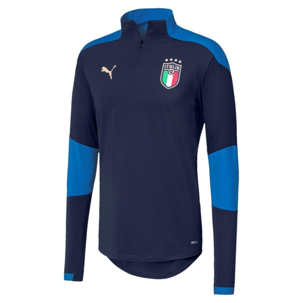 Puma Italia 1/4 Zip Fotballgenser EM 2021