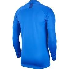 Nike Chelsea Dry Strike Drill Top Fotballgenser 19/20 Barn Blå