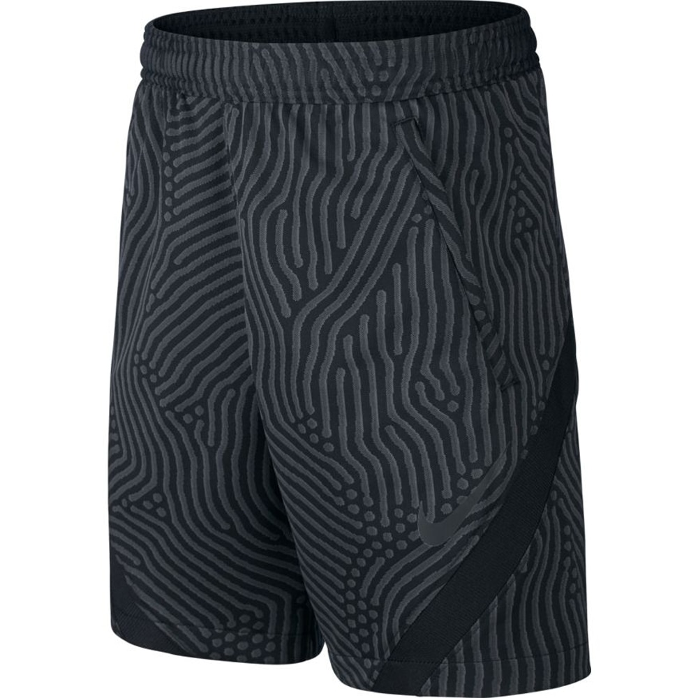 Nike Dry Strike Fotballshorts Knit Sort Barn