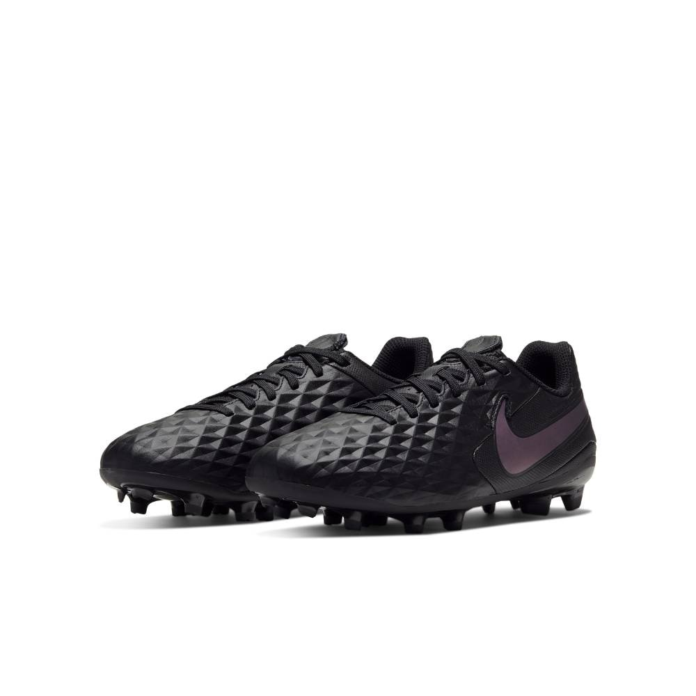 Nike Tiempo Legend 8 Academy FG/MG Fotballsko Barn Kinetic Black Pack