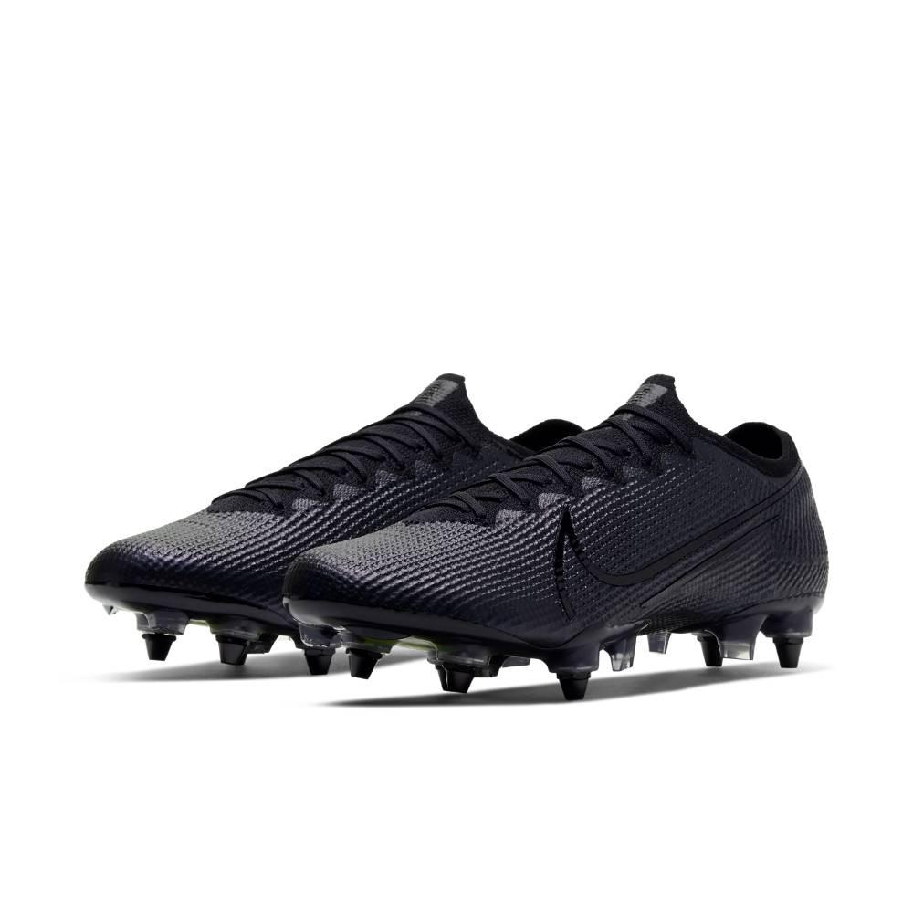 Nike Mercurial Vapor 13 Elite Anti-Clog SG-Pro Fotballsko Kinetic Black Pack