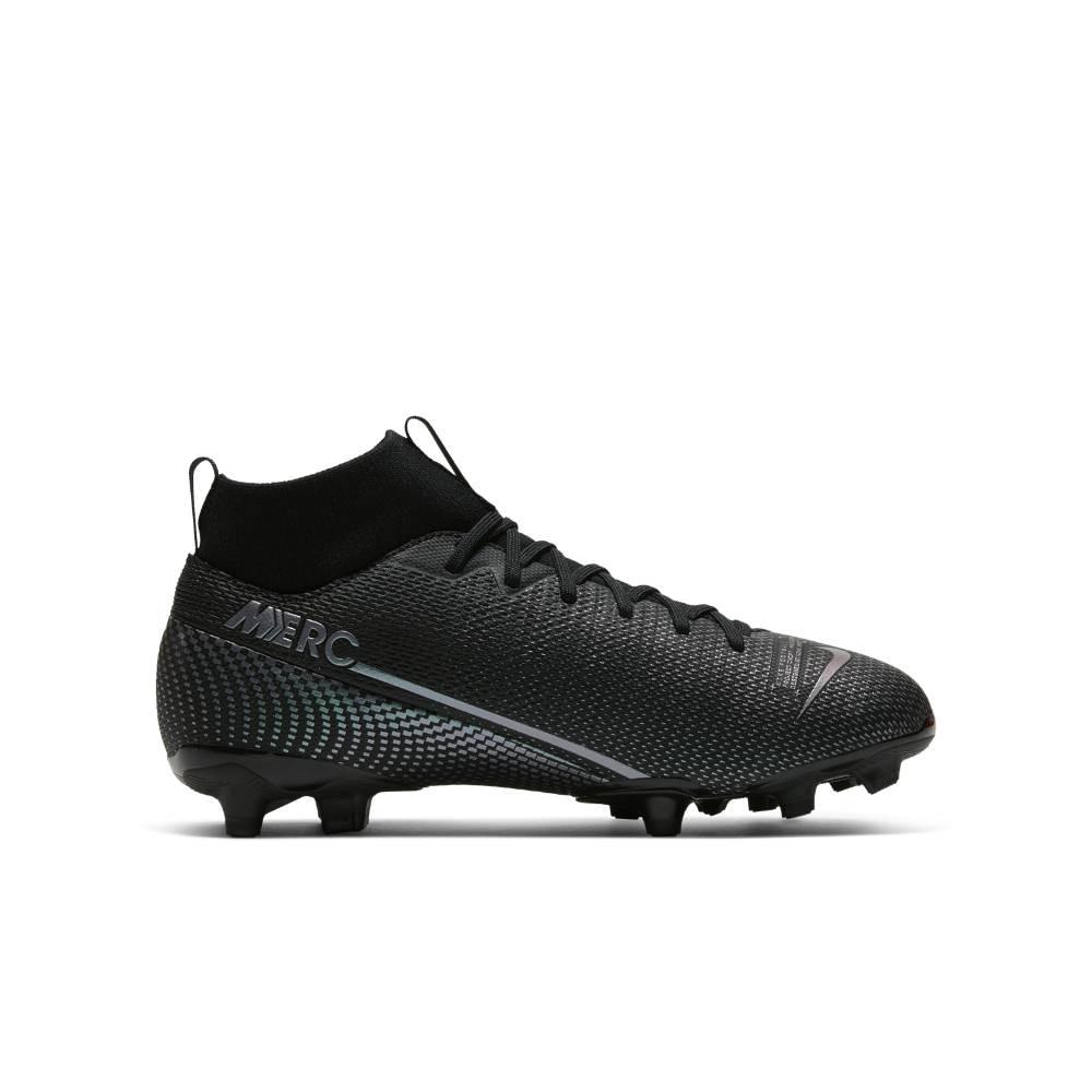 Nike Mercurial Superfly 7 Academy FG/MG Fotballsko Barn Kinetic Black Pack