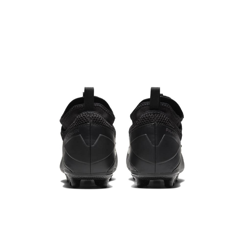Nike Phantom Vision 2 Academy FG/MG Fotballsko Barn Kinetic Black Pack