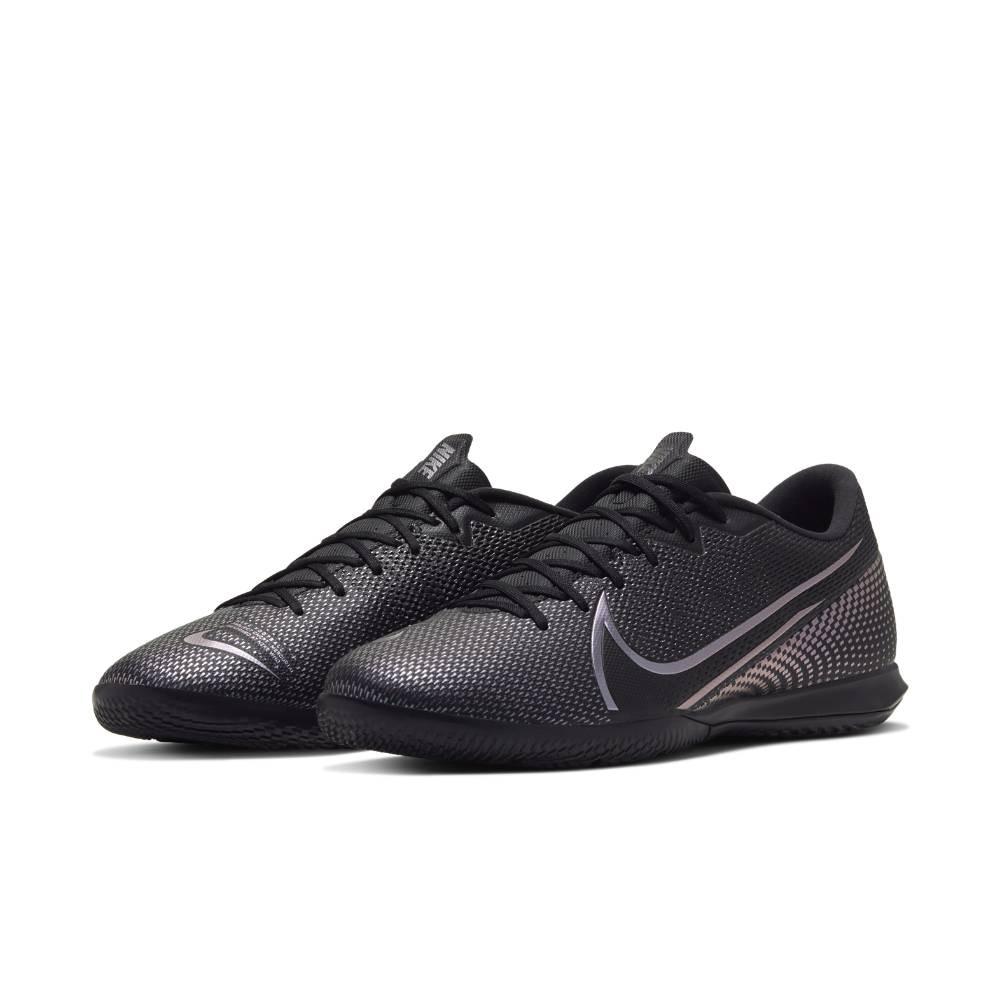 Nike MercurialX Vapor 13 Academy IC Futsal Innendørs Fotballsko Kinetic Black Pack