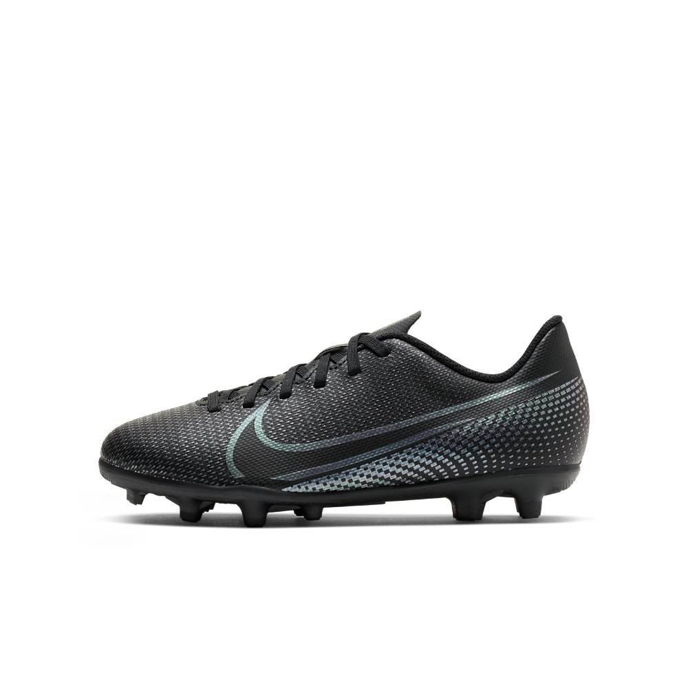 Nike Mercurial Vapor 13 Club FG/MG Fotballsko Barn Kinetic Black Pack
