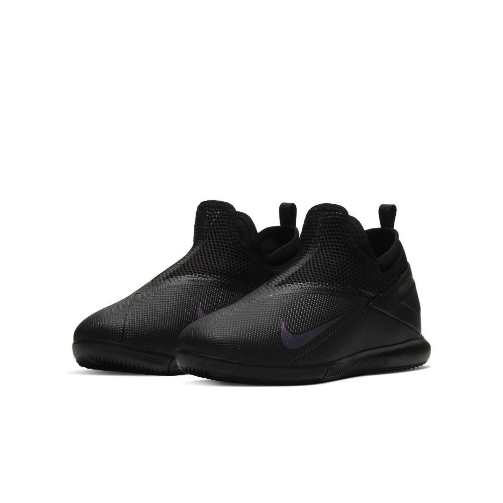Nike Phantom Vision 2 Academy IC Futsal Innendørs Fotballsko Barn Kinetic Black Pack