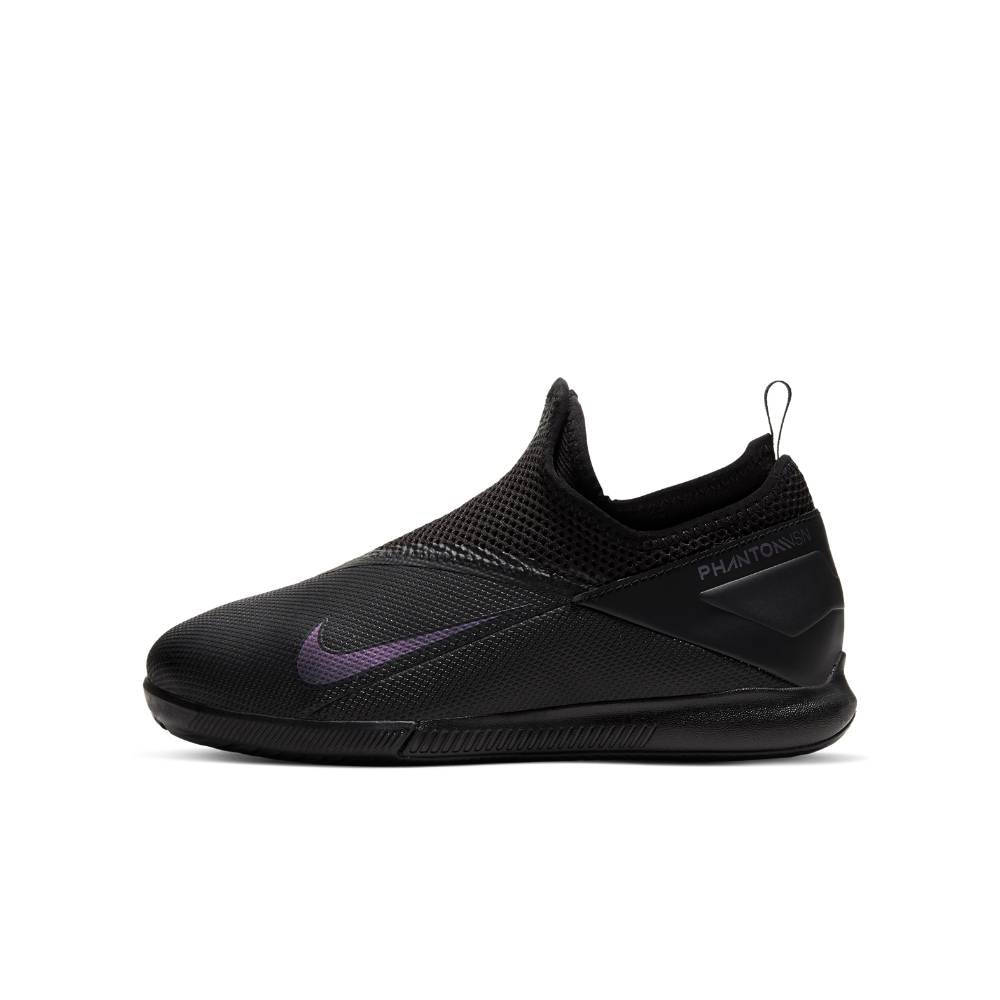 Nike Phantom Vision 2 Academy IC Futsal Innendørs Fotballsko Barn Kinetic Black Pack