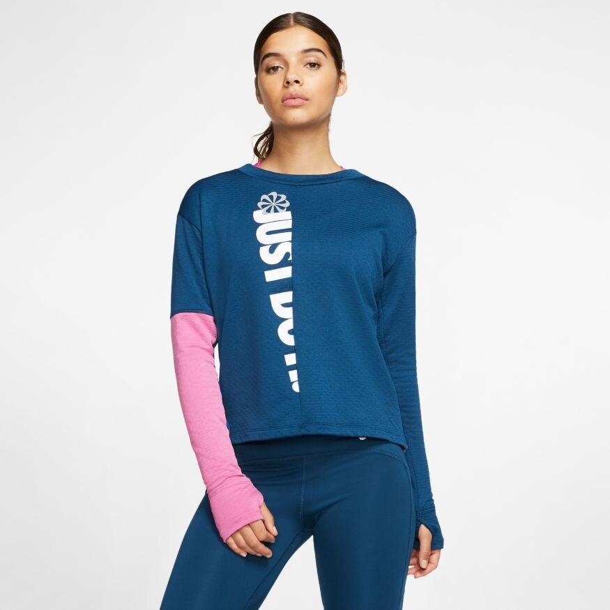 Nike Langermet Løpetrøye Dame Icon Clash