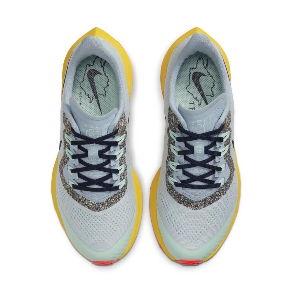 Nike Air Zoom Pegasus 36 Trail Joggesko Dame Lyseblå