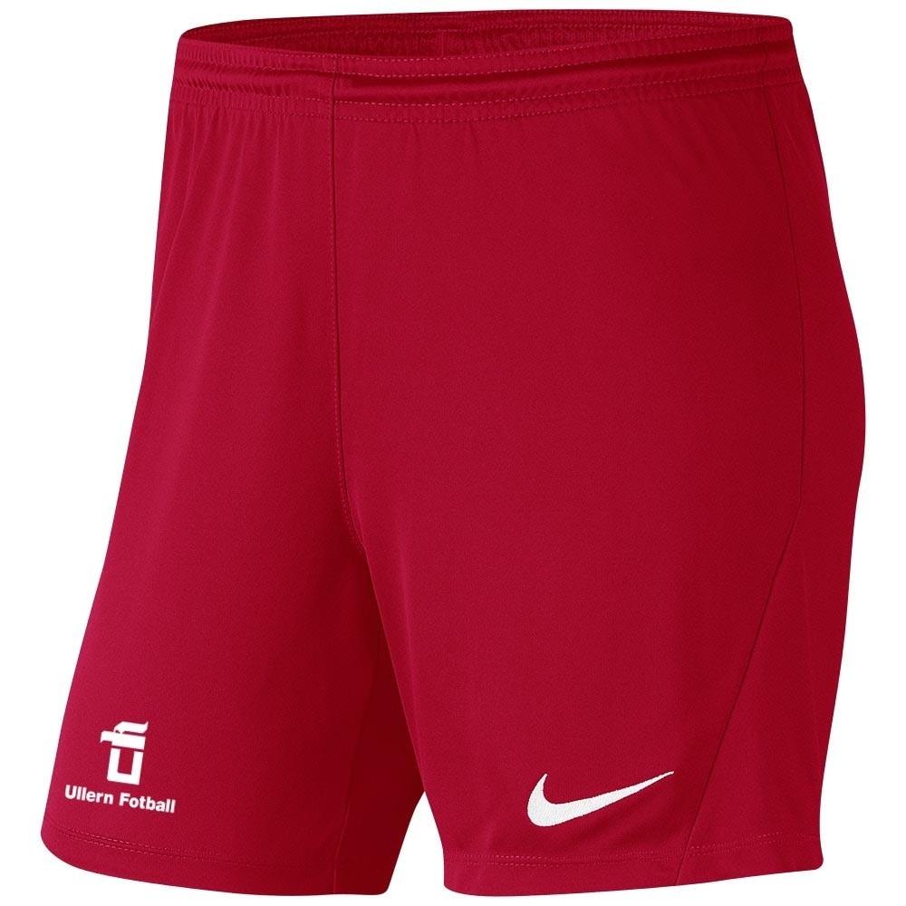 Nike Ullern Fotball Treningsshorts Dame Rød