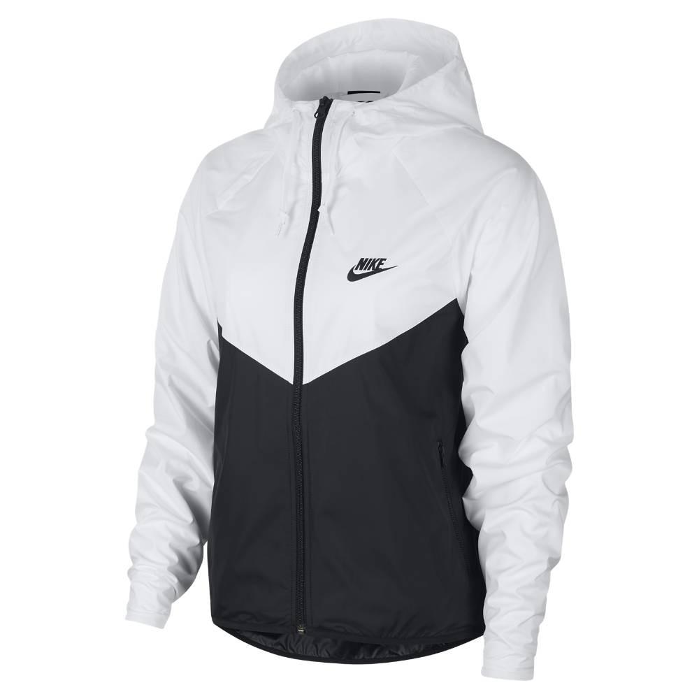 Nike Sportswear Windrunner Treningsjakke Dame Sort/Hvit