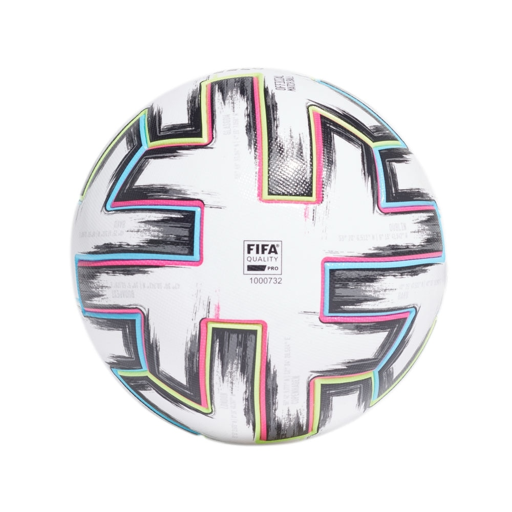 Adidas Uniforia Offisiell Matchball EM 2020 Fotball Hvit