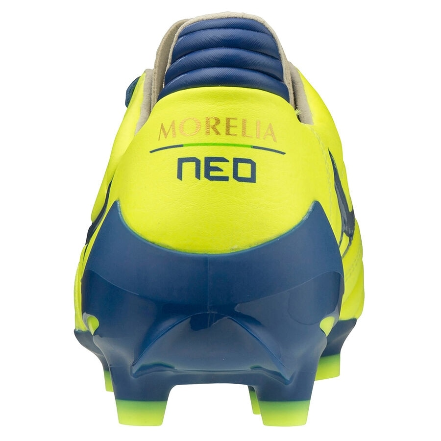 Mizuno Morelia Neo II MD FG Fotballsko Brazilian Spirit Pack