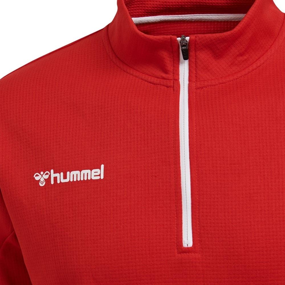 Hummel Authentic Half-Zip Treningsgenser Rød Barn