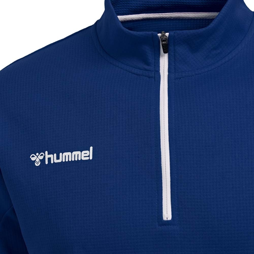 Hummel Authentic Half-Zip Treningsgenser Blå Barn