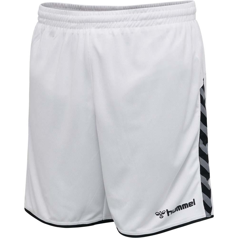 Hummel Authentic Poly Shorts Hvit/Sort