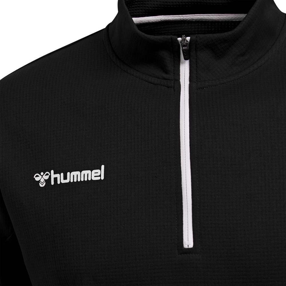 Hummel Authentic Half-Zip Treningsgenser Sort Barn