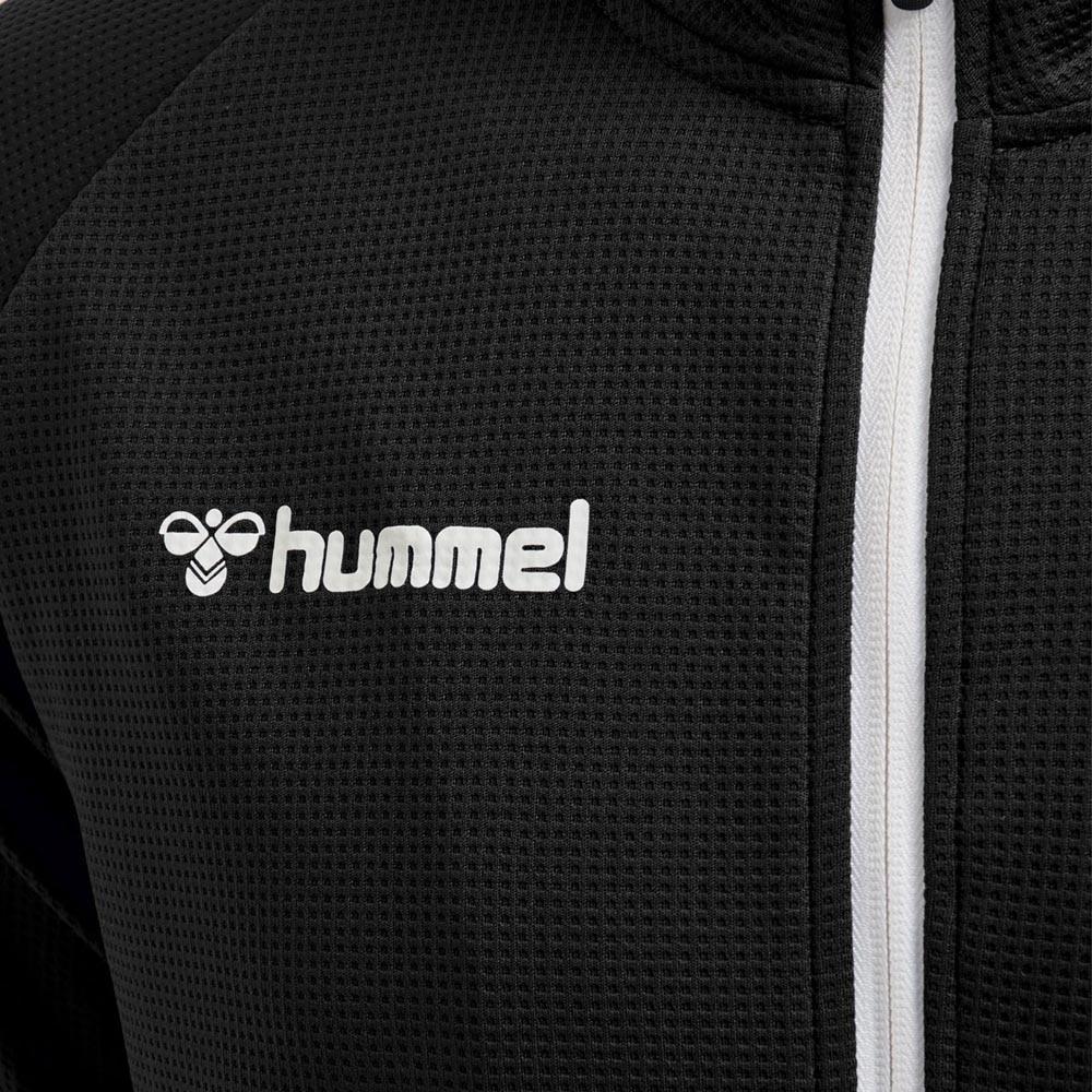 Hummel Authentic Poly Zip Treningsjakke Sort Barn