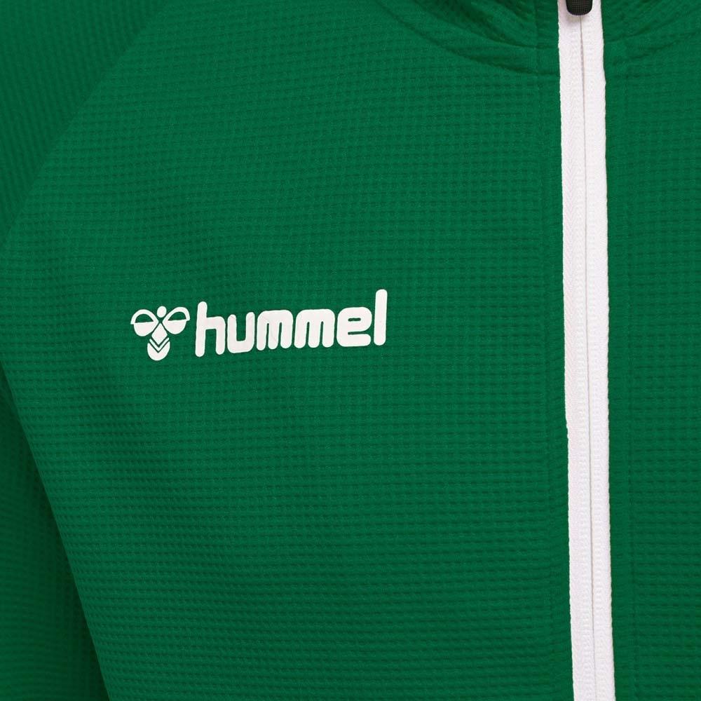 Hummel Authentic Poly Zip Treningsjakke Grønn Barn