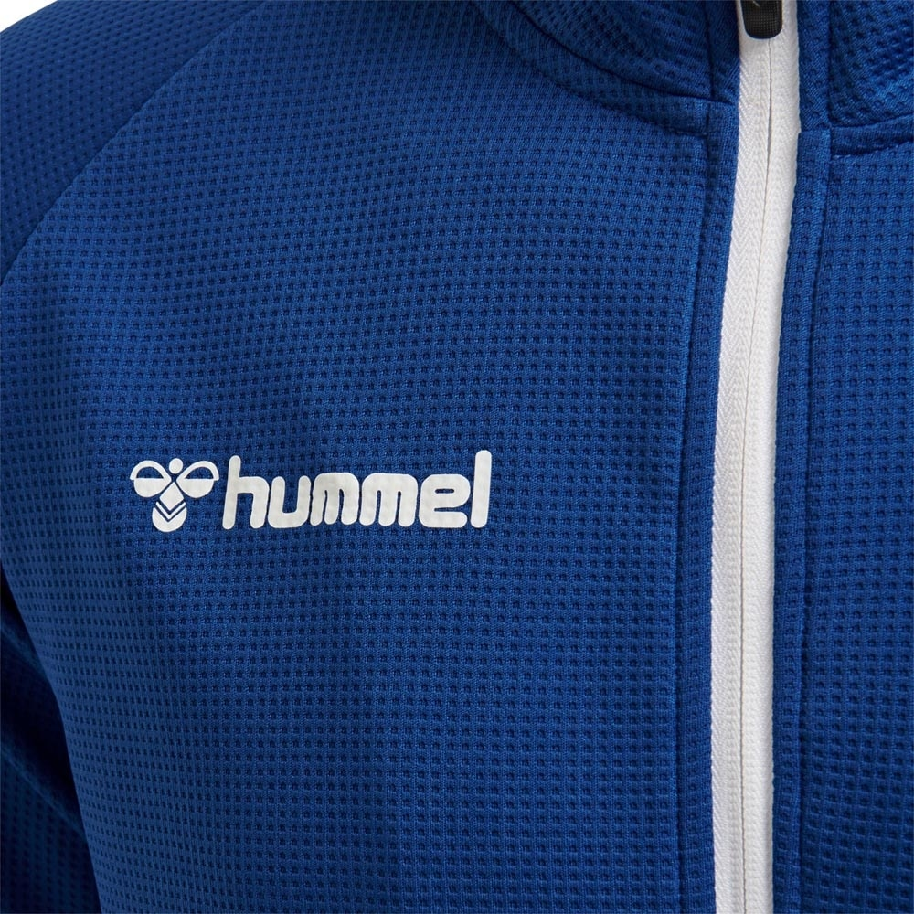 Hummel Authentic Poly Zip Treningsjakke Blå Barn