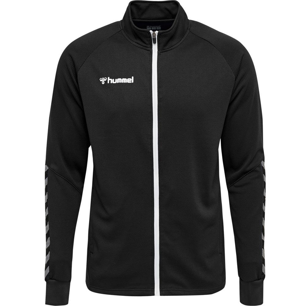 Hummel Authentic Poly Zip Treningsjakke Sort