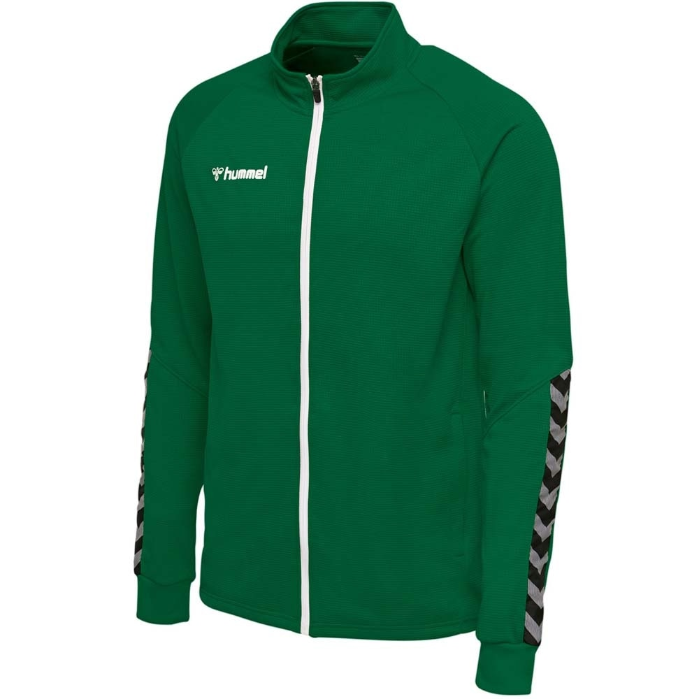 Hummel Authentic Poly Zip Treningsjakke Grønn