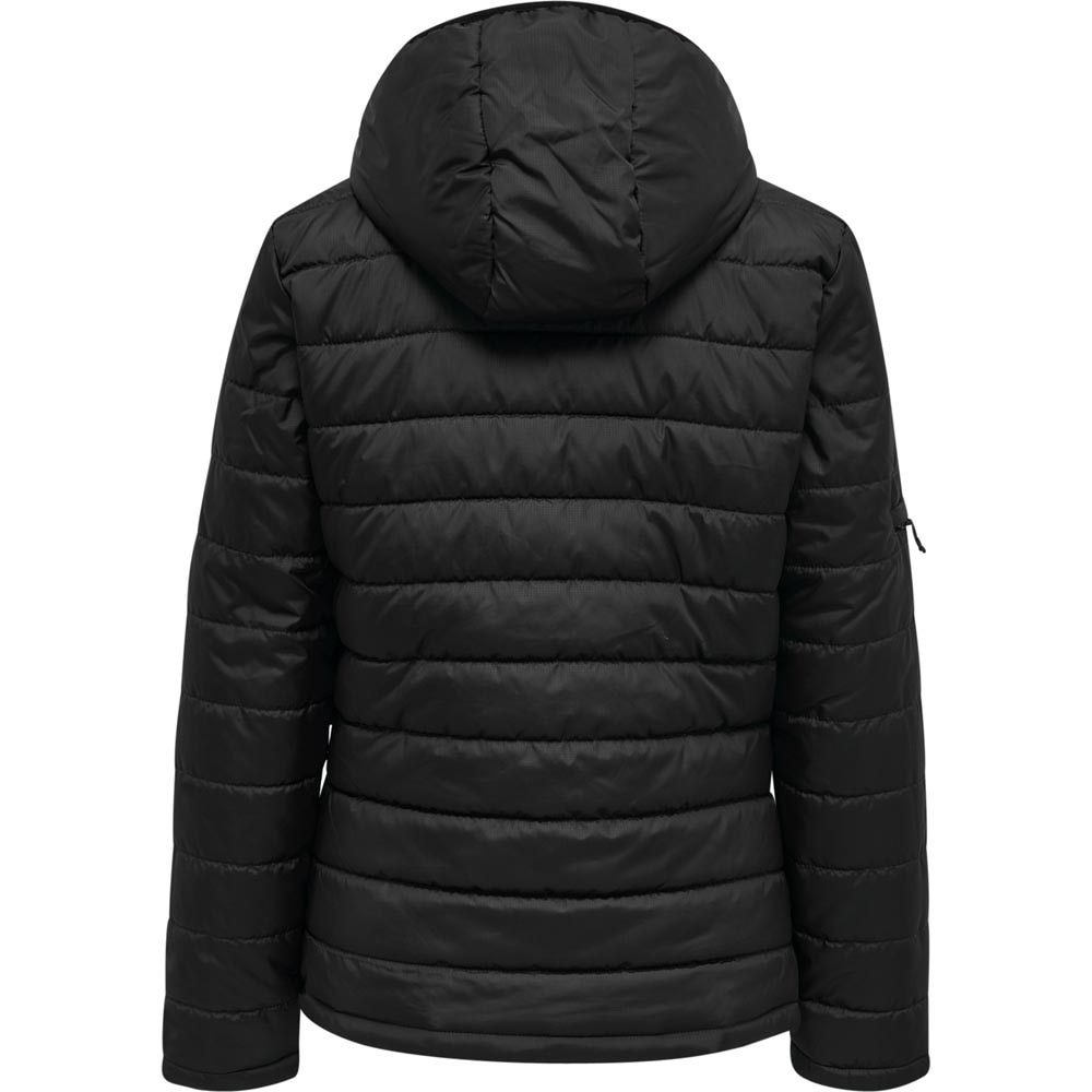 Hummel North Quilted Hood Jakke Sort Dame