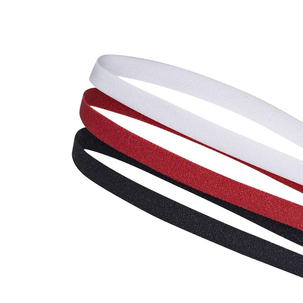 Adidas 3PP Hårbånd Hvit/Rød/Sort