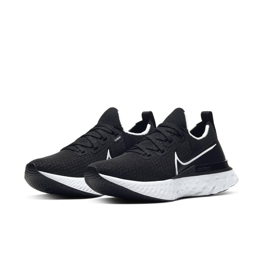 Nike React Infinity Run Flyknit Joggesko Dame Sort