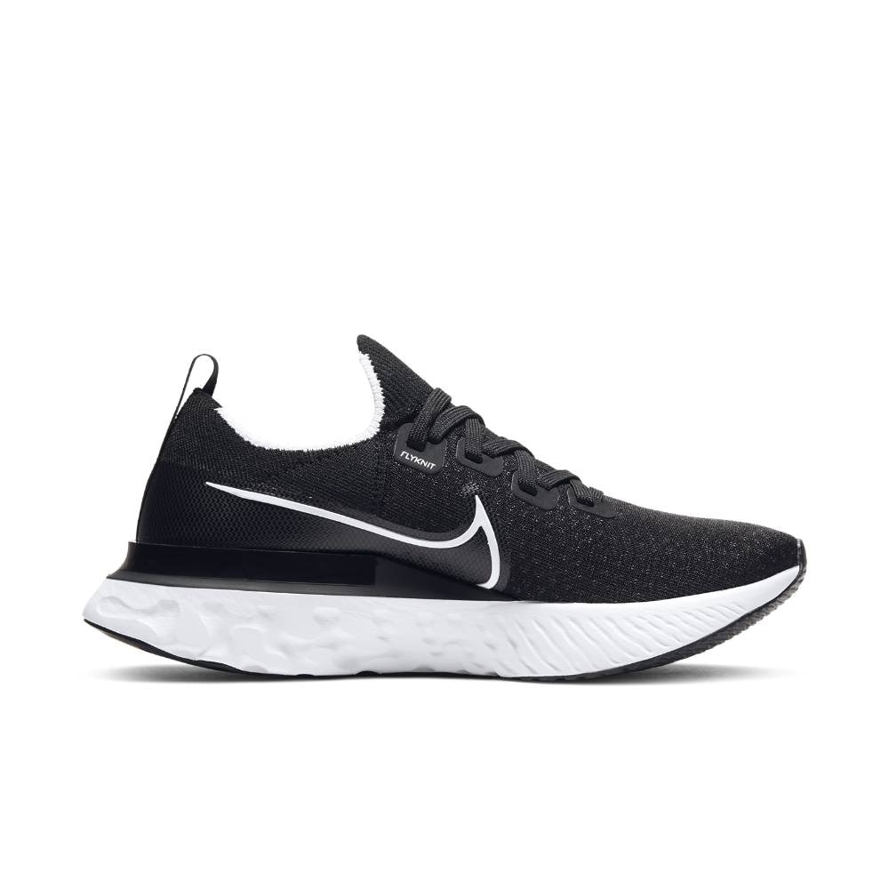 Nike React Infinity Run Flyknit Joggesko Dame Sort