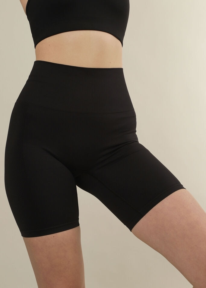 Stay In Place Seamless Biker Tights Dame