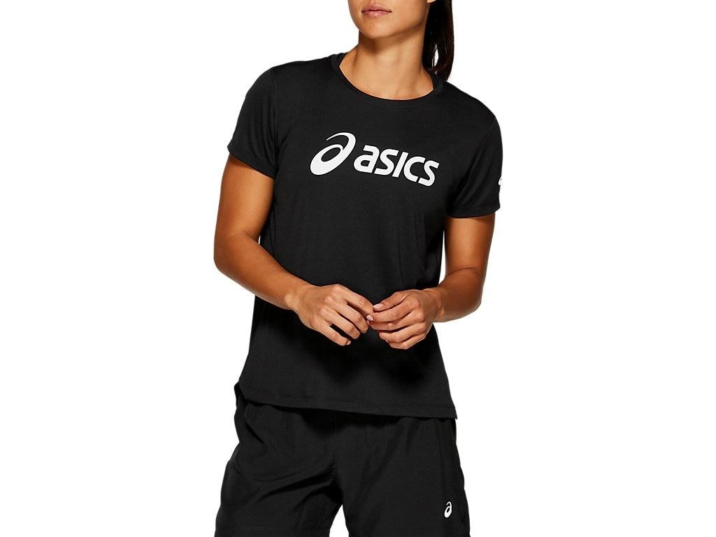 Asics Silver Top Løpetrøye Dame Sort