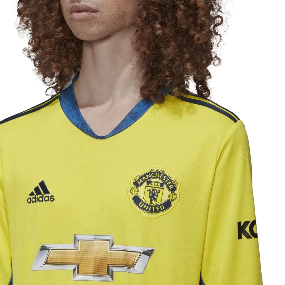 Adidas Manchester United Fotballdrakt 20/21 Keeper Borte