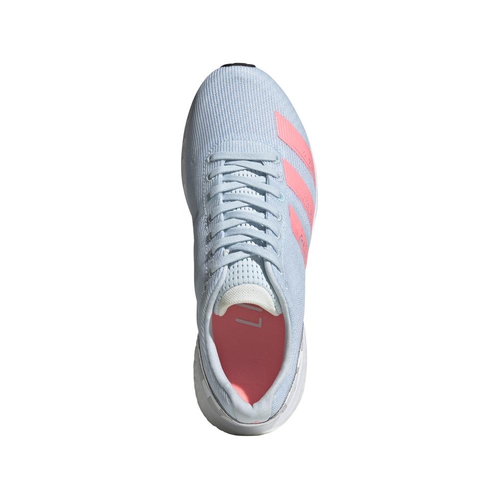 Adidas Adizero Boston 8 Joggesko Dame Lyseblå