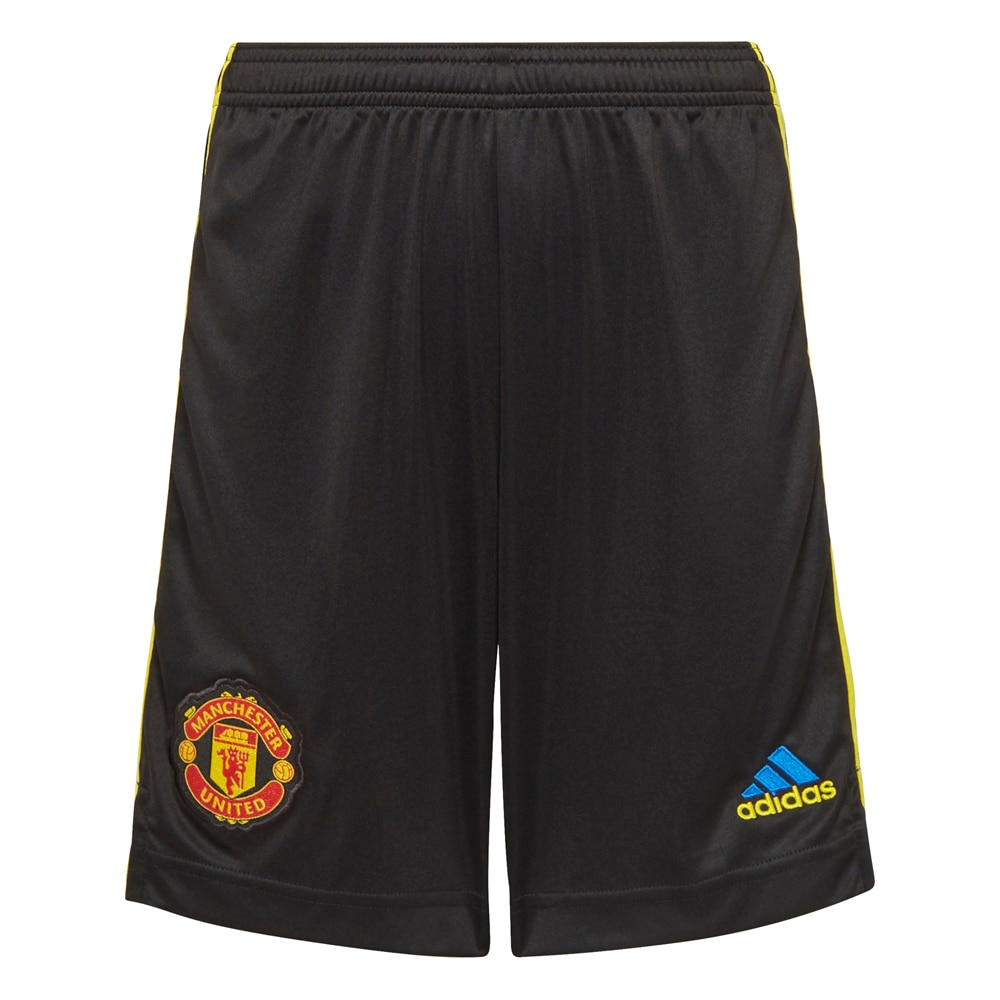 Adidas Manchester United Fotballshorts 21/22 3rd Barn