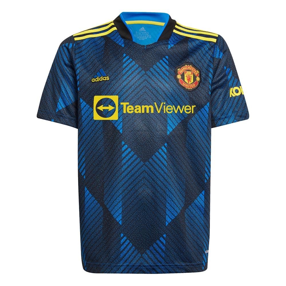 Adidas Manchester United Fotballdrakt 21/22 3rd Barn