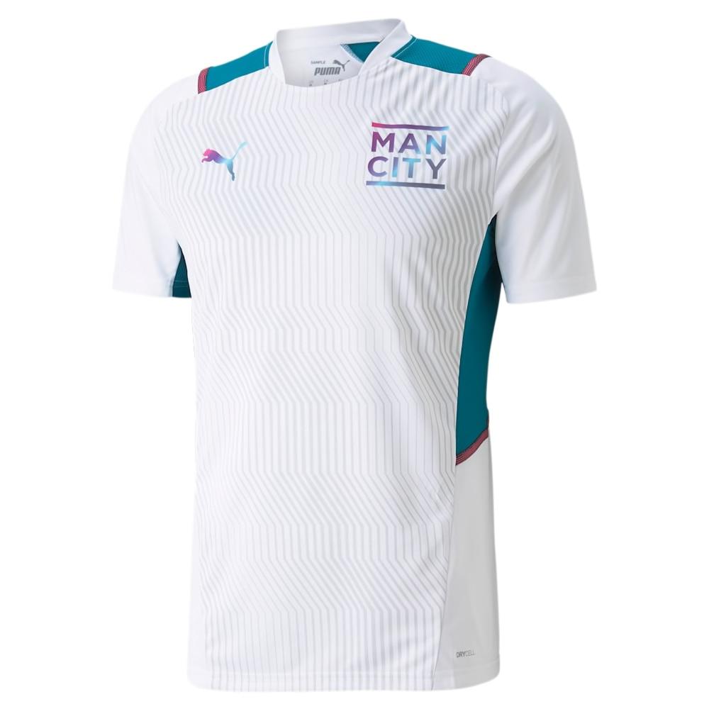 Puma Manchester City Treningstrøye 21/22 Hvit