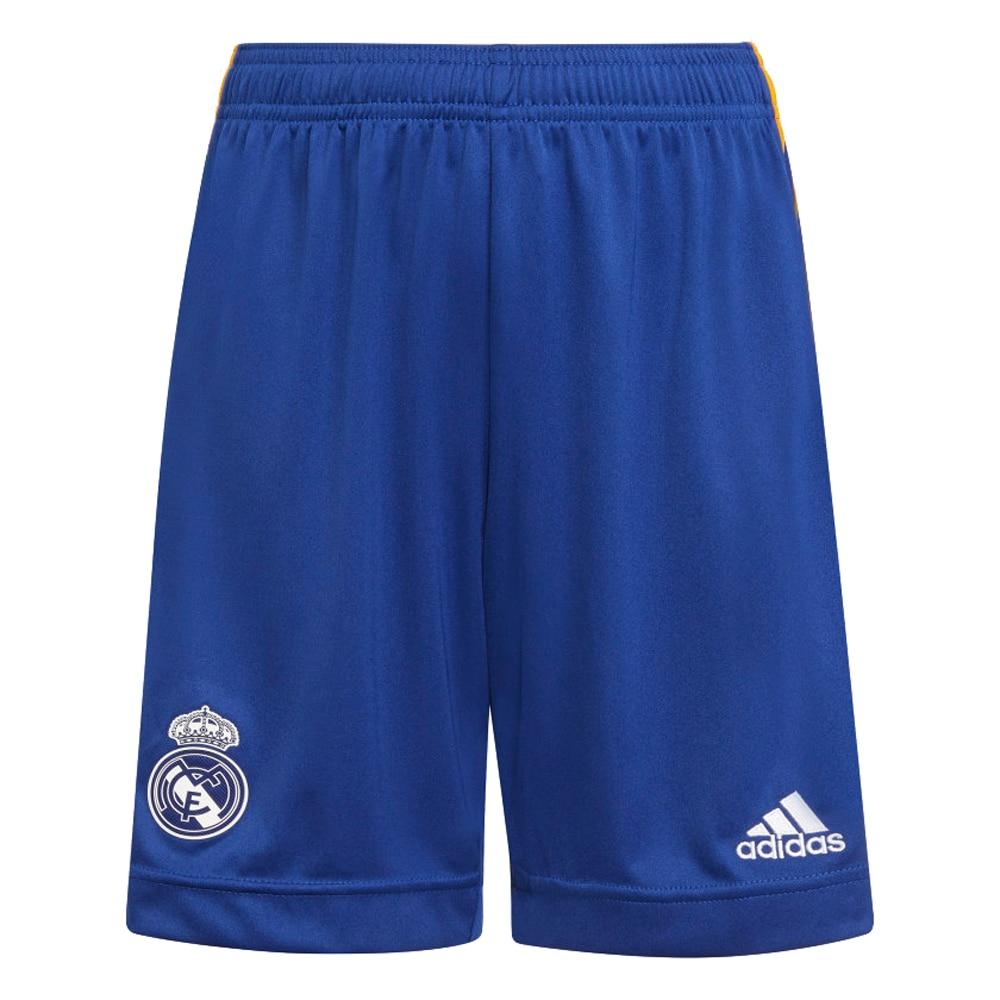 Adidas Real Madrid Fotballshorts 21/22 Borte Barn
