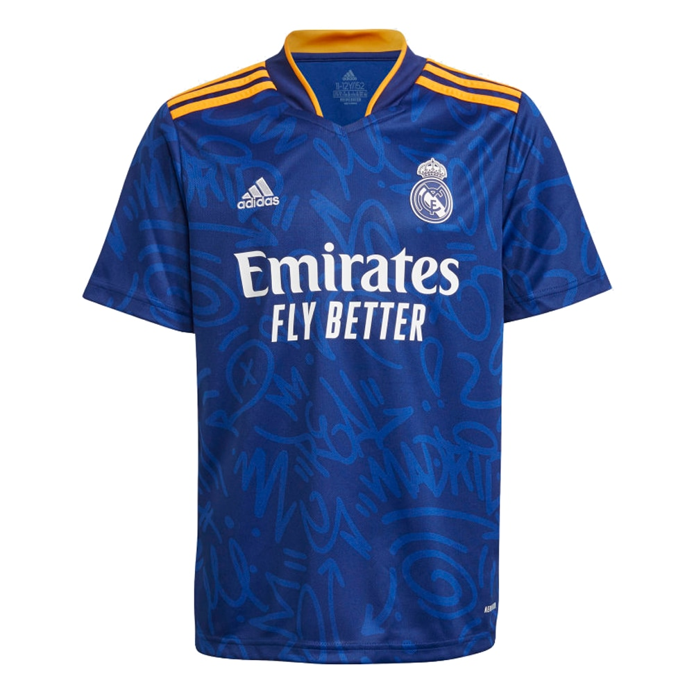 Adidas Real Madrid Fotballdrakt 21/22 Borte Barn